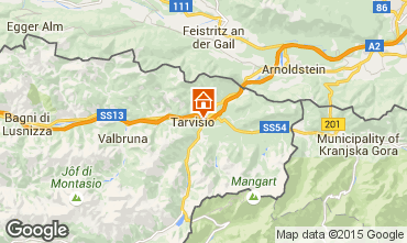 Map Tarvisio Apartment 98946