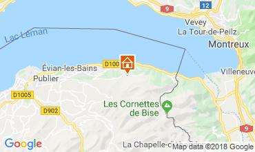 Map Thollon Les Mémises Apartment 116906