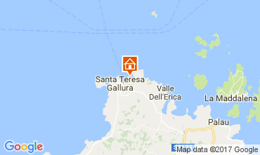 Map Santa Teresa di Gallura Apartment 33793