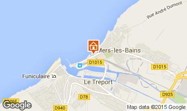 Map Mers Les bains Apartment 7743