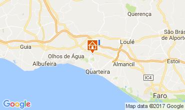 Map Vilamoura Villa 109457