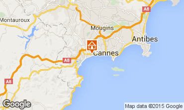 Map Cannes Apartment 82546
