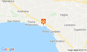 Map Porto Cesareo Apartment 117577