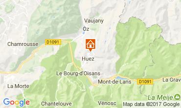 Map Alpe d'Huez Apartment 64