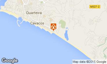 Map Quarteira Apartment 69418