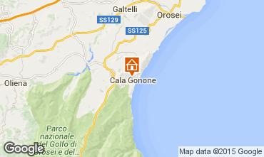Map Cala Gonone Apartment 90605
