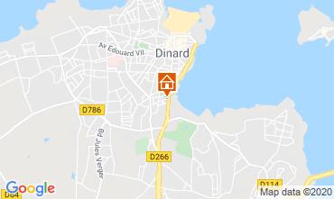 Map Dinard Apartment 103786