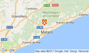 Map Barcelona Villa 111555