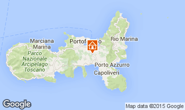 Map Portoferraio Studio apartment 68655