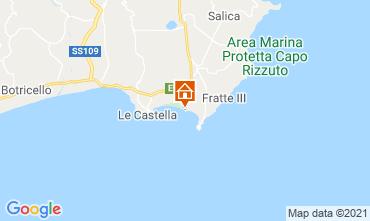 Map Isola di Capo Rizzuto Apartment 79202