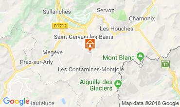 Map Saint Gervais Mont-Blanc Chalet 116893
