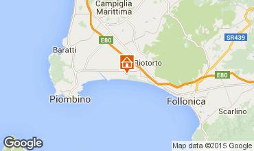Map Piombino Apartment 69162