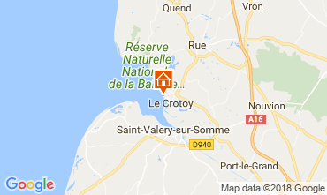 Map Le Crotoy Apartment 114336