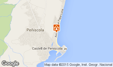 Map Pe��scola Flat 92382
