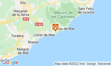 Map Tossa de Mar Villa 112326