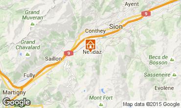 Map Nendaz Apartment 67594