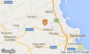Map Syracuse Villa 92428