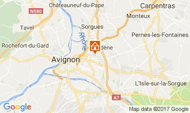 Map Avignon Villa 111517