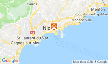 Map Nice Villa 117272
