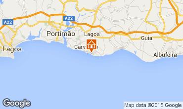 Map Carvoeiro Apartment 46539
