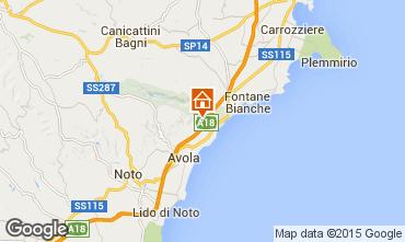 Map Syracuse Villa 67859