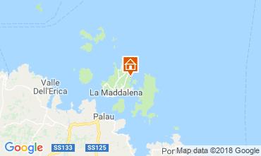 Map La Maddalena Villa 55314