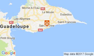 Map Sainte Anne (Guadeloupe) House 112269