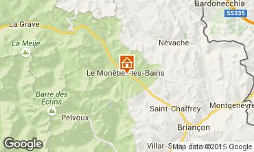 Map Serre Chevalier Apartment 15851