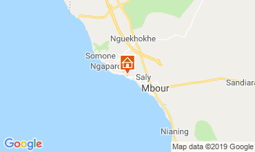 Map Saly Villa 117014