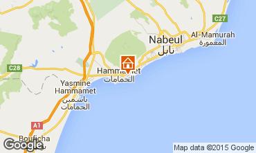 Map Hammamet Villa 64711