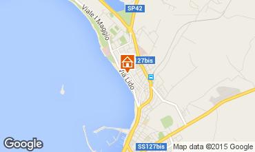 Map Alghero Apartment 94404