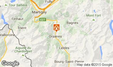 Map Verbier Chalet 89126