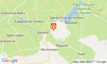 Map Artignosc-sur-Verdon House 111099