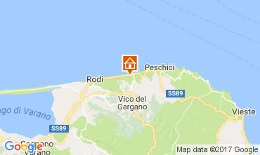 Map San Menaio Apartment 109901