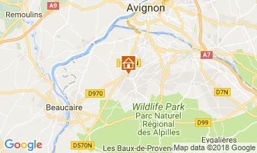 Map Saint Rémy de Provence House 115597