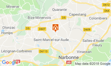 Map Narbonne House 115058