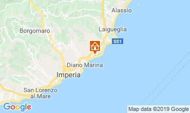 Map San Bartolomeo al Mare Apartment 99692