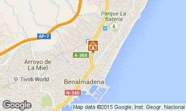 Map Torremolinos Apartment 44794