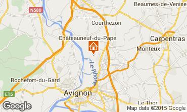 Map Avignon Villa 93665