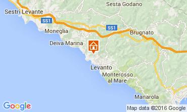Map Bonassola Apartment 78393
