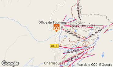 Map Chamrousse Studio apartment 763