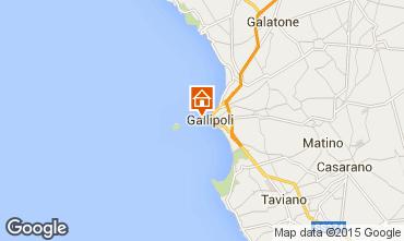 Map Gallipoli Studio apartment 86067