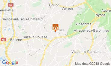 Map Grignan House 114138