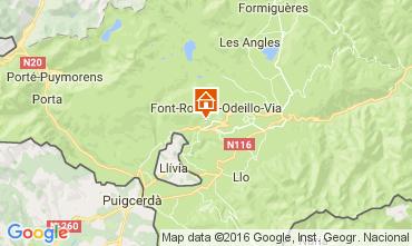 Map Font Romeu Chalet 64073