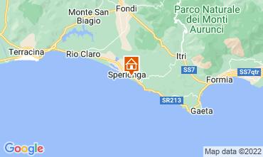 Map Sperlonga Apartment 97604