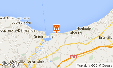 Map Cabourg House 10769