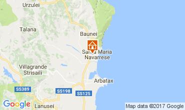 Map Santa Maria Navarrese Villa 110022