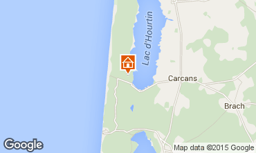 Map Carcans Maubuisson Villa 42163
