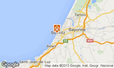 Map Biarritz Flat 62855
