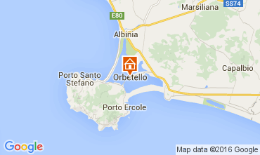 Map Monte Argentario Apartment 89887